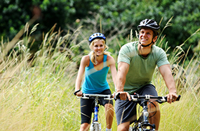 Angebot für Radfahrer im Luther-Hotel in Wittenberg