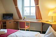 Ausblick aus Zimmer im Luther-Hotel