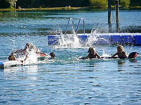 Badespaß in Wittenberg im Sommer