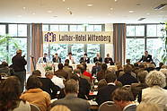 Busy conference at the Luther-Hotel