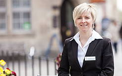Claudia Hartlöhner, Luther-Hotel, F & B Managerin