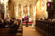 Devotion at the All Saints' Church