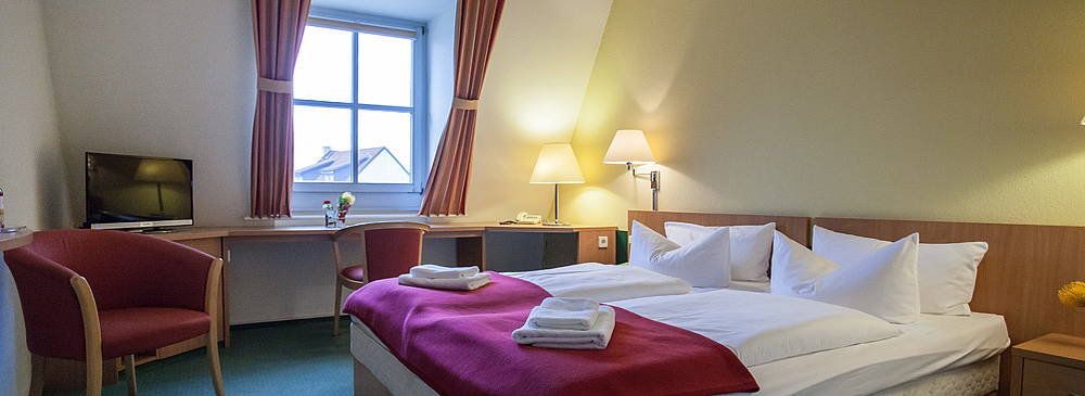 Double Room at the Luther-Hotel in Wittenberg