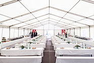 Event Catering in a Pavilion in the Courtyard