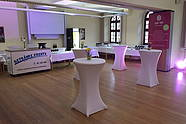 Event Room with a Counter for Beverages