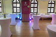 Event Room with Light Installation