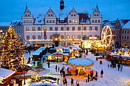 Guided city tour through Lutherstadt Wittenberg during Advent season