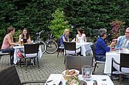 Hofgarten im Restaurant im Luther-Hotel