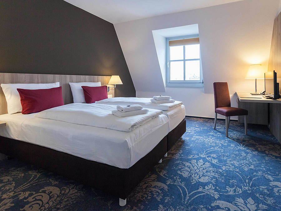 Hotel room in Luther-Hotel Wittenberg