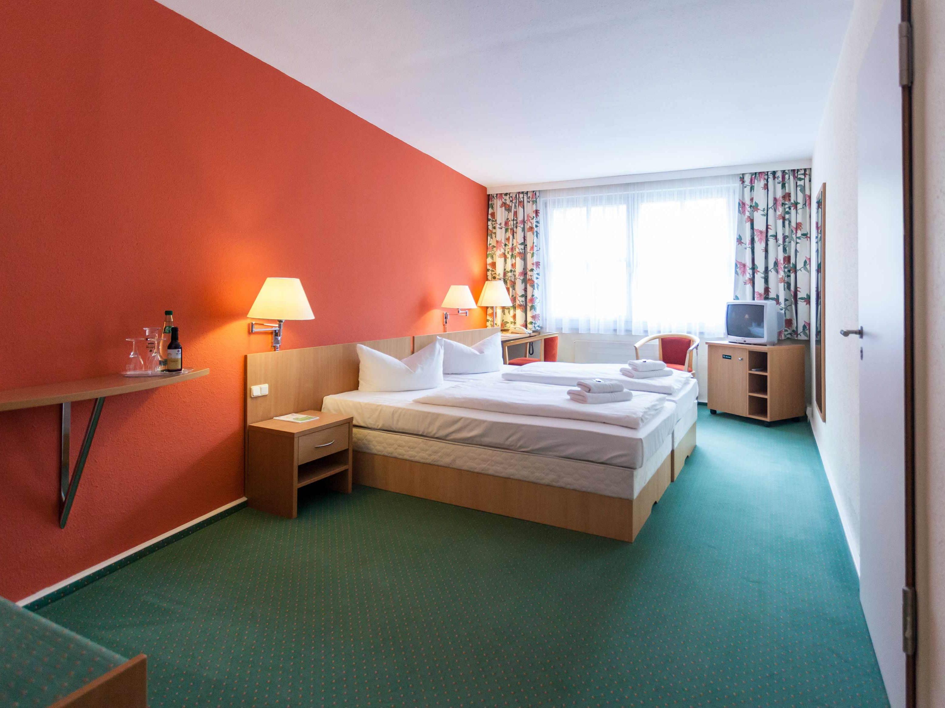Hotelzimmer im Luther-Hotel Wittenberg