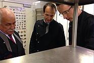 Jürgen Dannnenberg, Andreas Silbersack and Christian Hirsch deliberating