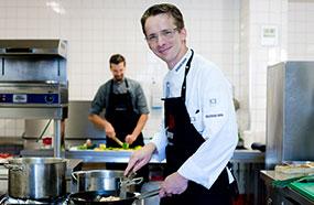 Küchenchef Restaurant im Luther-Hotel Christian Hirsch