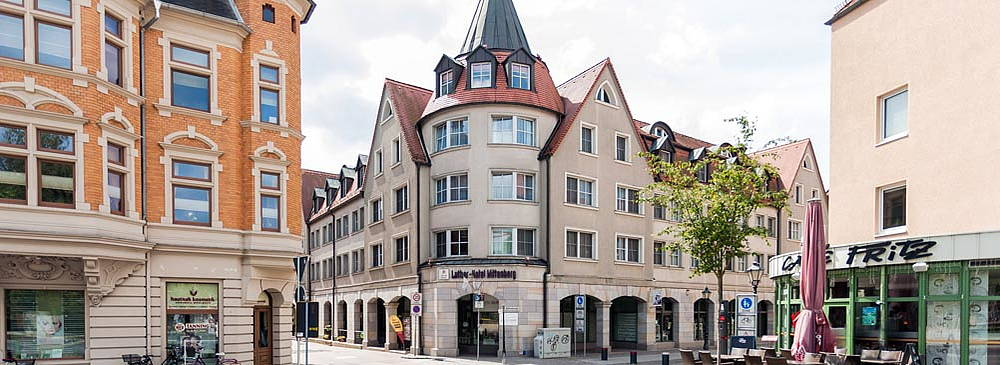 Luther Hotel Hausansicht