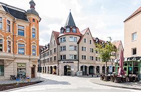 Luther-Hotel im Zentrum von Wittenberg