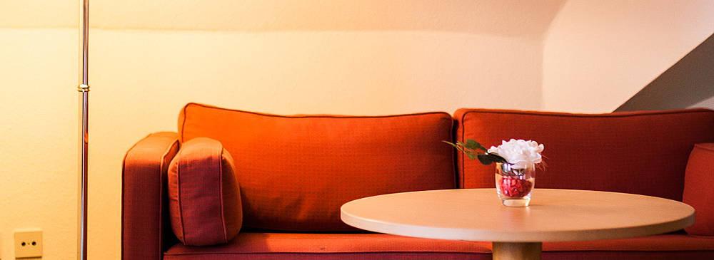 Luther Hotel Zimmer Sitzecke