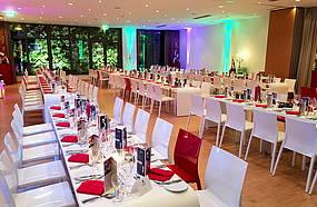 Promi-Dinner im Luther-Hotel in Wittenberg