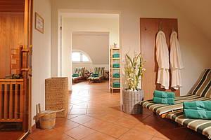 Saunabereich im Luther-Hotel Wittenberg