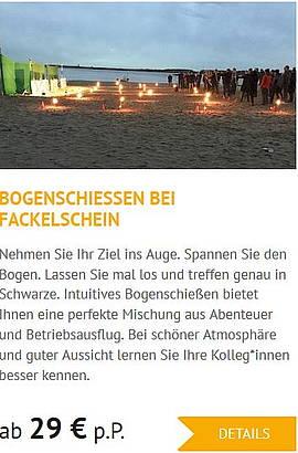 Teambuilding in Wittenberg Bogenschießen