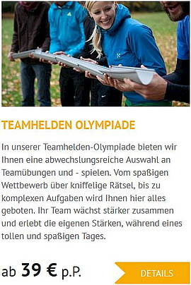 Teambuilding in Lutherstadt Wittenberg Events