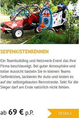 Teamevents in Wittenberg Seifenkistenrennen
