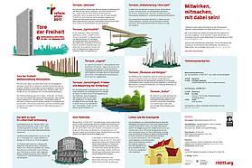 Tore der Freiheit Weltausstellung in Wittenberg
