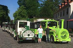 Wittenberg bequem mit der Altstadtbahn entdecken