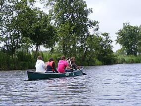 Wittenberg im Sommer Wassersport